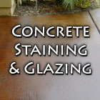 Concrete Staining & Glazing